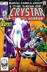 Cover Thumbnail for The Saga of Crystar, Crystal Warrior (Marvel, 1983 series) #2 [Direct]