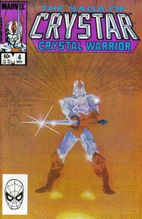 Cover Thumbnail for The Saga of Crystar, Crystal Warrior (Marvel, 1983 series) #4 [Direct]