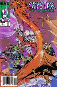 Cover Thumbnail for Saga of Crystar, Crystal Warrior (Marvel, 1983 series) #9 [Direct Edition ]