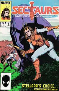 Cover Thumbnail for Sectaurs (Marvel, 1985 series) #4