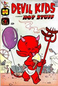 Cover Thumbnail for Devil Kids Starring Hot Stuff (Harvey, 1962 series) #1