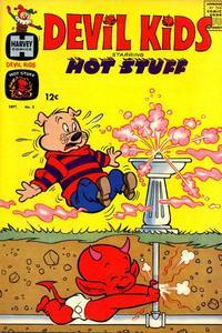 Cover Thumbnail for Devil Kids Starring Hot Stuff (Harvey, 1962 series) #2