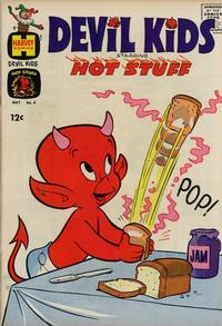 Cover for Devil Kids Starring Hot Stuff (Harvey, 1962 series) #6