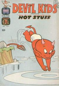 Cover for Devil Kids Starring Hot Stuff (Harvey, 1962 series) #9