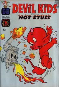 Cover for Devil Kids Starring Hot Stuff (Harvey, 1962 series) #12