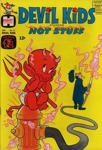 Cover Thumbnail for Devil Kids Starring Hot Stuff (Harvey, 1962 series) #14