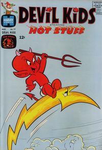 Cover Thumbnail for Devil Kids Starring Hot Stuff (Harvey, 1962 series) #17