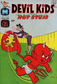 Cover Thumbnail for Devil Kids Starring Hot Stuff (Harvey, 1962 series) #20