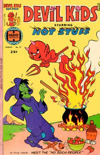 Cover for Devil Kids Starring Hot Stuff (Harvey, 1962 series) #77