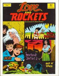 Cover Thumbnail for Love and Rockets (Fantagraphics, 1982 series) #4
