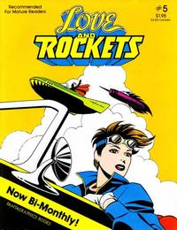 Cover Thumbnail for Love and Rockets (Fantagraphics, 1982 series) #5