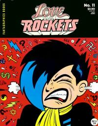 Cover Thumbnail for Love and Rockets (Fantagraphics, 1982 series) #11 [2nd printing]