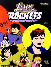 Cover for Love and Rockets (Fantagraphics, 1982 series) #13