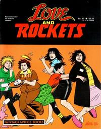 Cover Thumbnail for Love and Rockets (Fantagraphics, 1982 series) #17