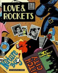 Cover for Love and Rockets (Fantagraphics, 1982 series) #30 [2nd Edition]