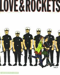Cover Thumbnail for Love and Rockets (Fantagraphics, 1982 series) #33