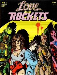 Cover for Love and Rockets (Fantagraphics, 1982 series) #1 [Second Printing]