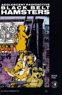 Cover Thumbnail for Adolescent Radioactive Black Belt Hamsters (Eclipse, 1986 series) #5