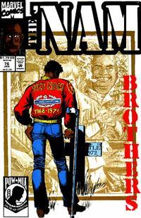 Cover Thumbnail for The 'Nam (Marvel, 1986 series) #76