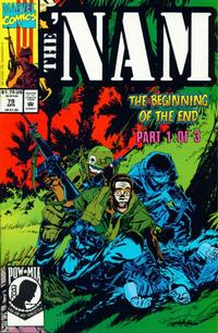 Cover Thumbnail for The 'Nam (Marvel, 1986 series) #79