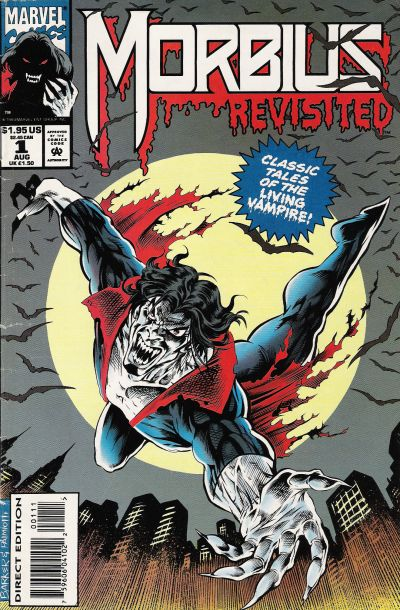 Cover for Morbius Revisited (Marvel, 1993 series) #1