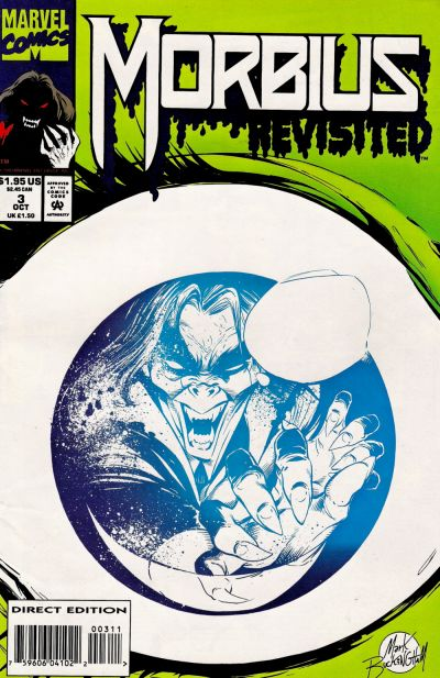 Cover for Morbius Revisited (Marvel, 1993 series) #3