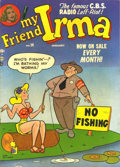 Cover for My Friend Irma (Marvel, 1950 series) #14