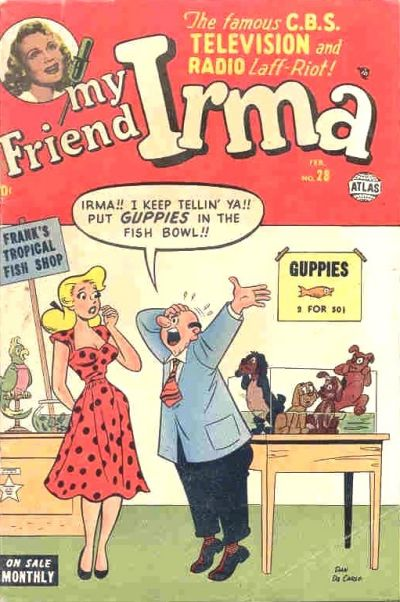 Cover for My Friend Irma (Marvel, 1950 series) #28