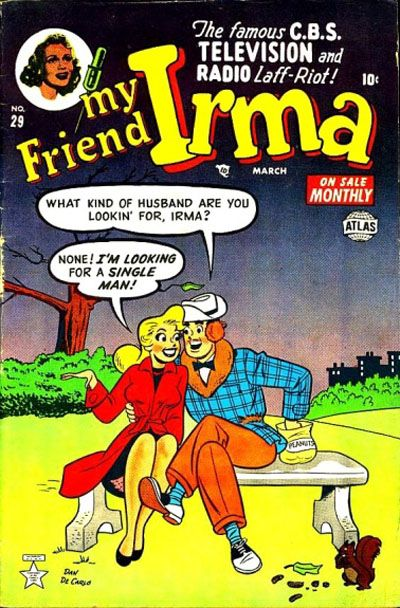 Cover for My Friend Irma (Marvel, 1950 series) #29
