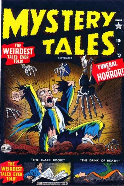 Cover for Mystery Tales (Marvel, 1952 series) #4