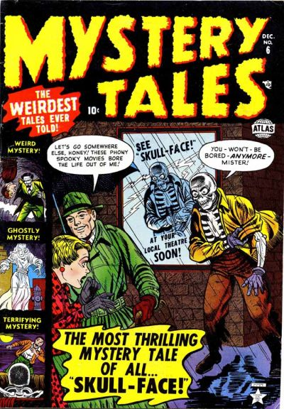 Cover for Mystery Tales (Marvel, 1952 series) #6