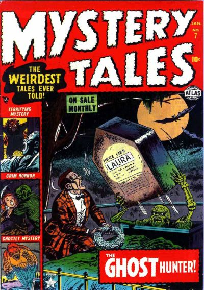 Cover for Mystery Tales (Marvel, 1952 series) #7