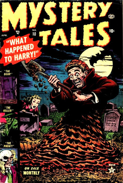 Cover for Mystery Tales (Marvel, 1952 series) #10