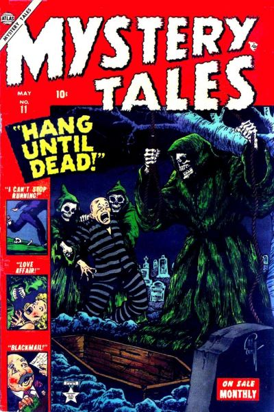 Cover for Mystery Tales (Marvel, 1952 series) #11