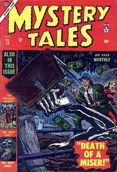 Cover for Mystery Tales (Marvel, 1952 series) #13