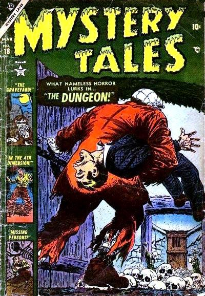 Cover for Mystery Tales (Marvel, 1952 series) #18