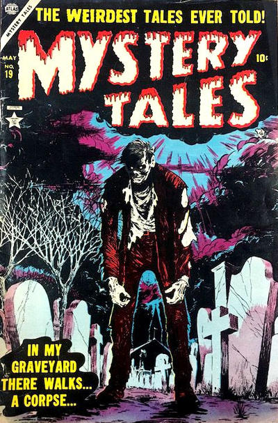 Cover for Mystery Tales (Marvel, 1952 series) #19