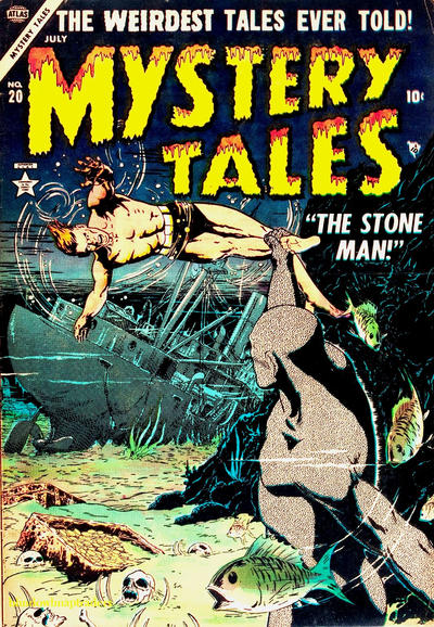 Cover for Mystery Tales (Marvel, 1952 series) #20