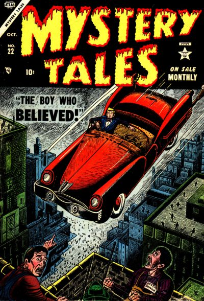 Cover for Mystery Tales (Marvel, 1952 series) #22