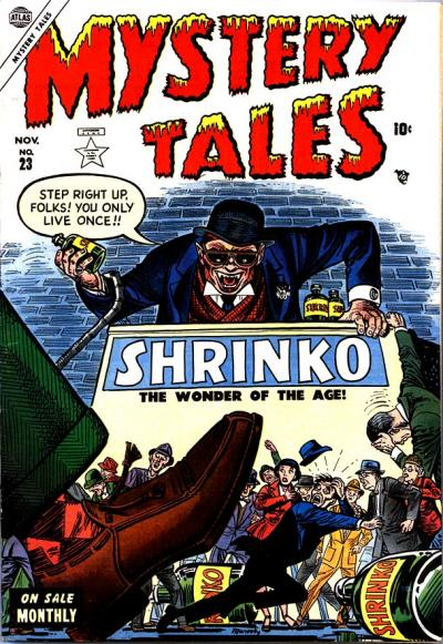 Cover for Mystery Tales (Marvel, 1952 series) #23