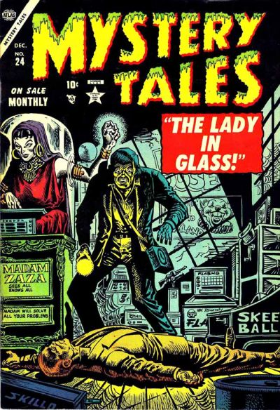 Cover for Mystery Tales (Marvel, 1952 series) #24