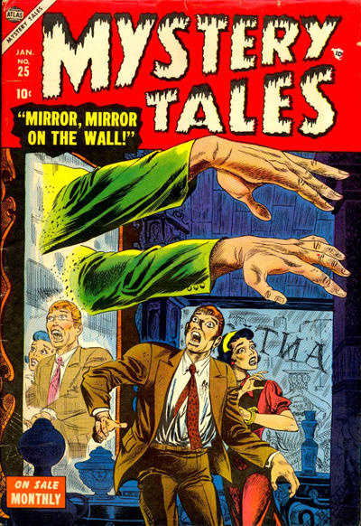 Cover for Mystery Tales (Marvel, 1952 series) #25
