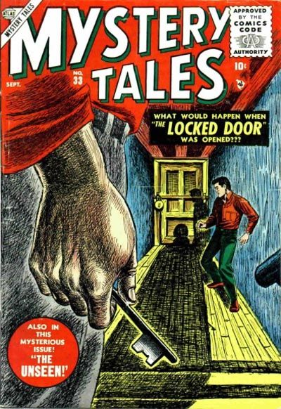 Cover for Mystery Tales (Marvel, 1952 series) #33