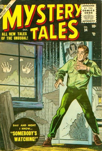 Cover for Mystery Tales (Marvel, 1952 series) #34