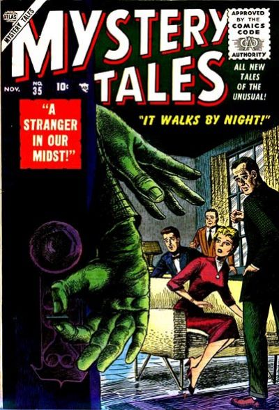 Cover for Mystery Tales (Marvel, 1952 series) #35