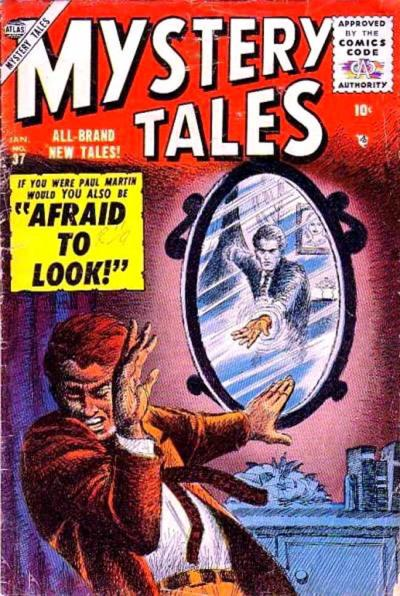 Cover for Mystery Tales (Marvel, 1952 series) #37