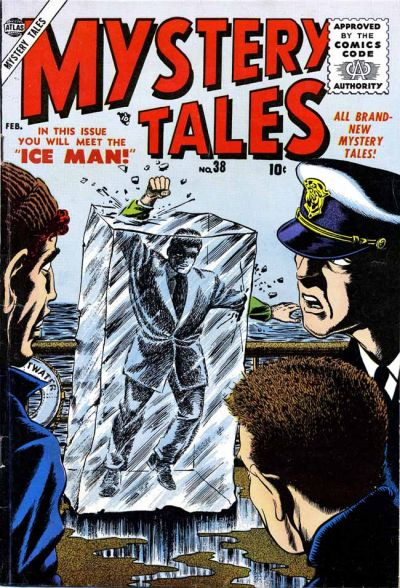 Cover for Mystery Tales (Marvel, 1952 series) #38
