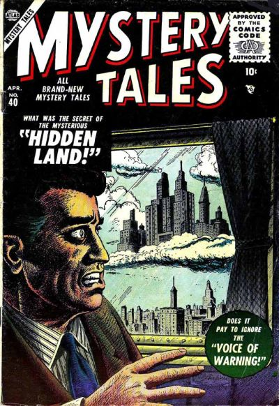 Cover for Mystery Tales (Marvel, 1952 series) #40