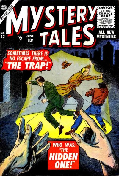 Cover for Mystery Tales (Marvel, 1952 series) #42