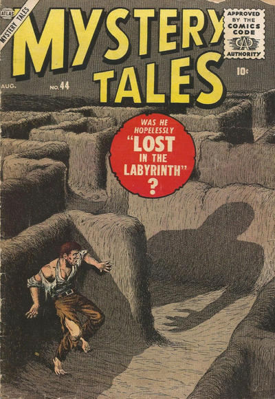 Cover for Mystery Tales (Marvel, 1952 series) #44